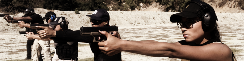 Outdoor Tactical Pistol Training